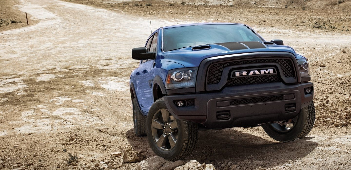 2020 Ram 1500 Classic Front View Blue Exterior