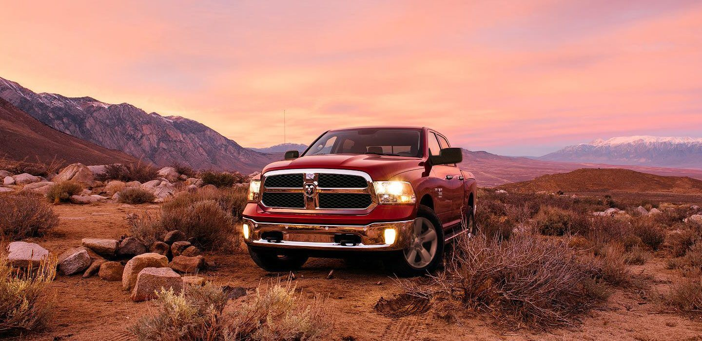 2020 Ram 1500 Classic Front View Red Exterior